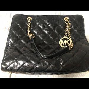 Michael Kors designer black handbag